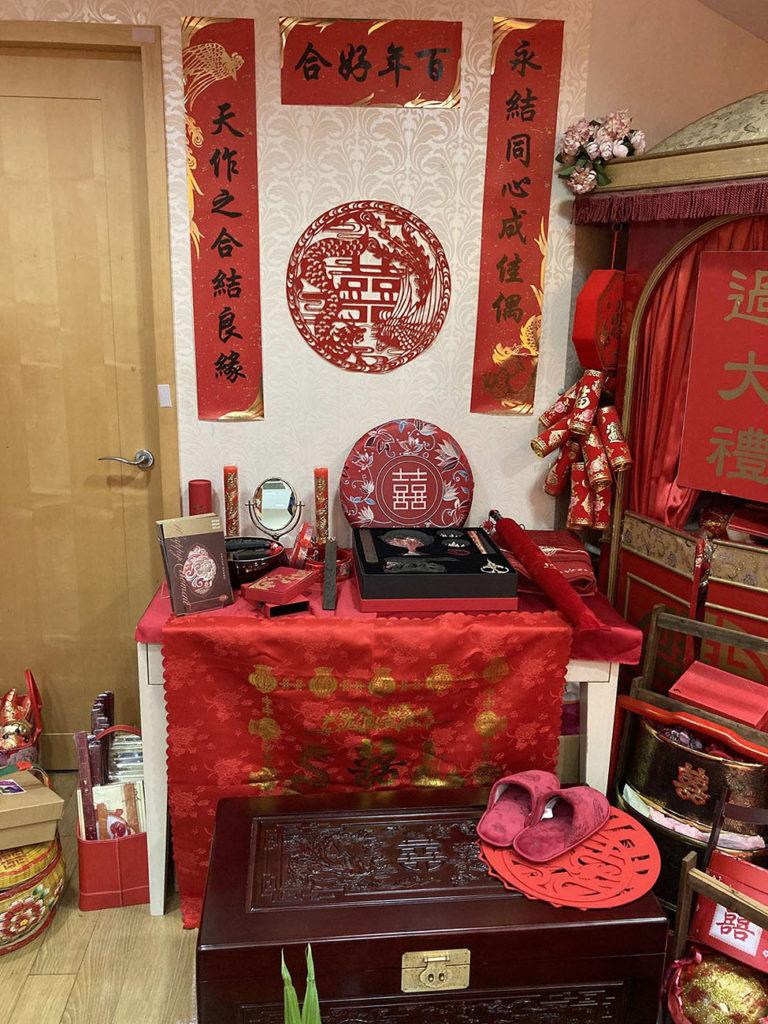 歐惠芳婚禮顧問展示區